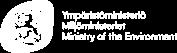 Miljödepartementets logotyp.